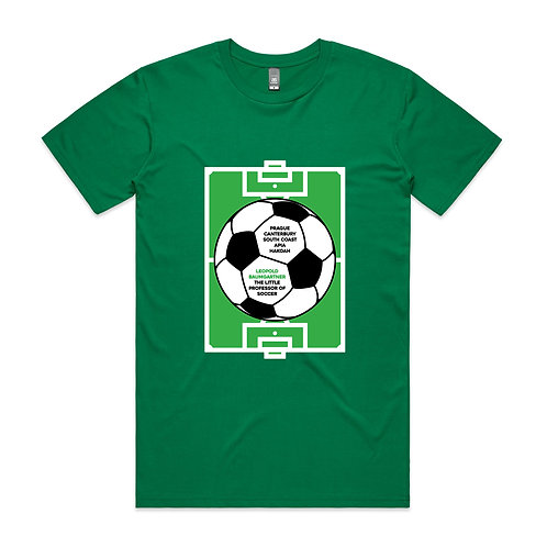 The Little Professor of Soccer T-shirt