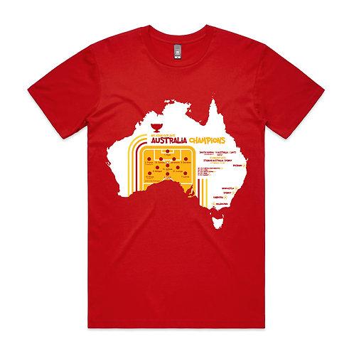 Australia Asian Cup 2015 T-shirt