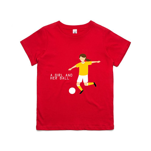 A Girl and Her Ball T-shirt