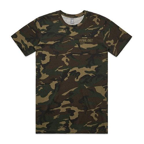 Futbol Cult Football Is War T-shirt