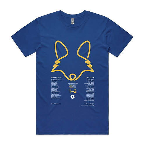 Leicester City v Australia 1980 T-shirt