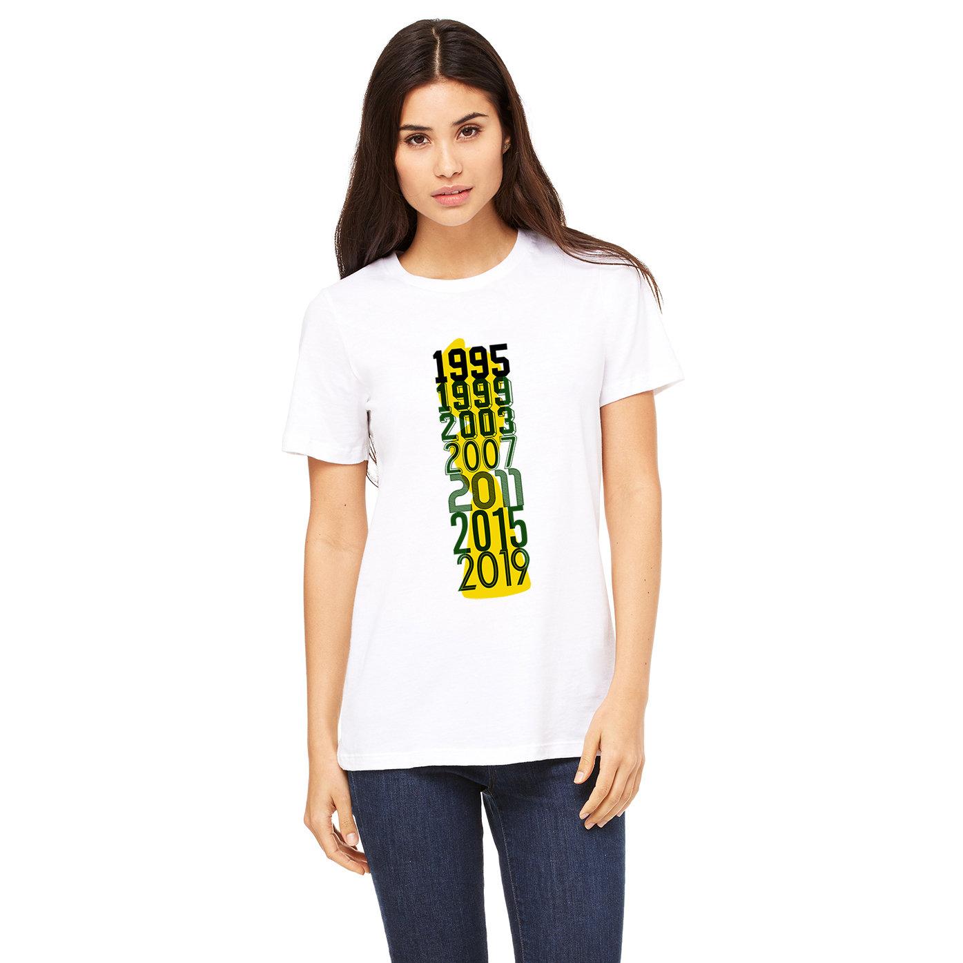 Matildas World Cup Fonts T-shirt