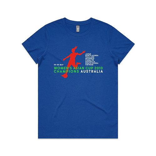 Women's Asian Cup 2010 Champions T-shirt