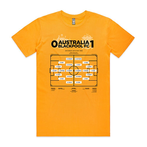 Australia Blackpool FC 1958 T-shirt