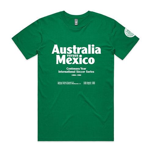 Australia versus Mexico 1980 T-shirt