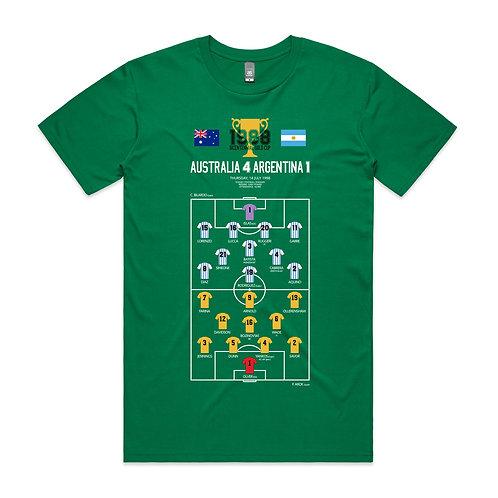 Australia 4 Argentina 1 T-shirt