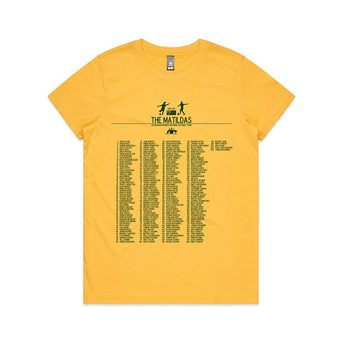 The Matildas 1979-2019 T-shirt