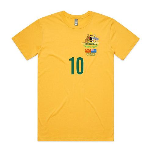 FYR Macedonia Australia Friendly 2015 T-shirt