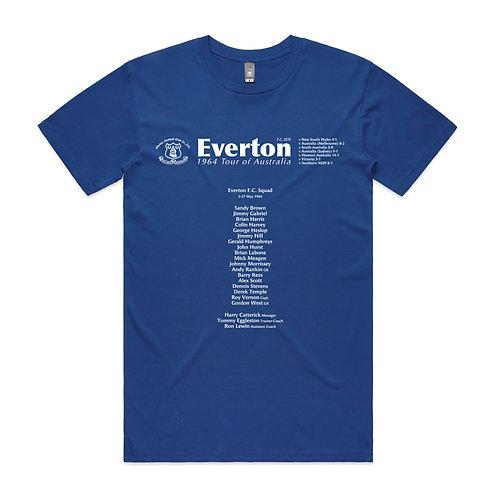 Everton 1964 Tour of Australia T-shirt