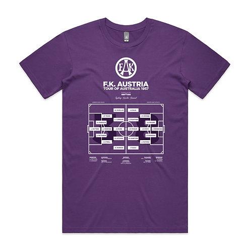 F.K. Austria Tour of Australia 1957 T-shirt