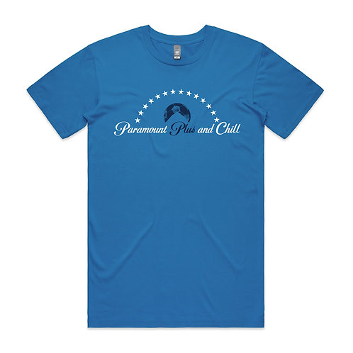 Paramount Plus and Chill T-shirt