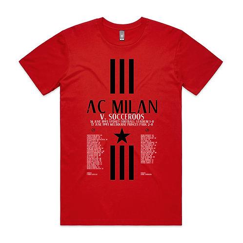 AC Milan Socceroos 1993 T-shirt