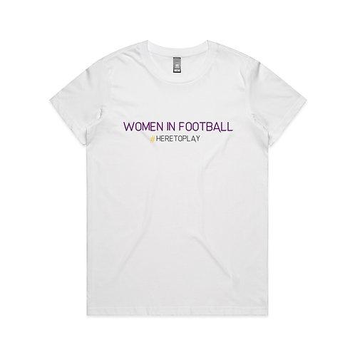 Women in Football 21 T-shirt