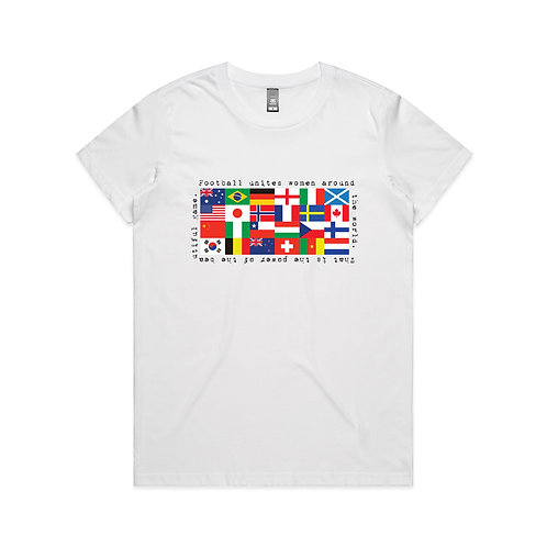Women of the World Game T-shirt