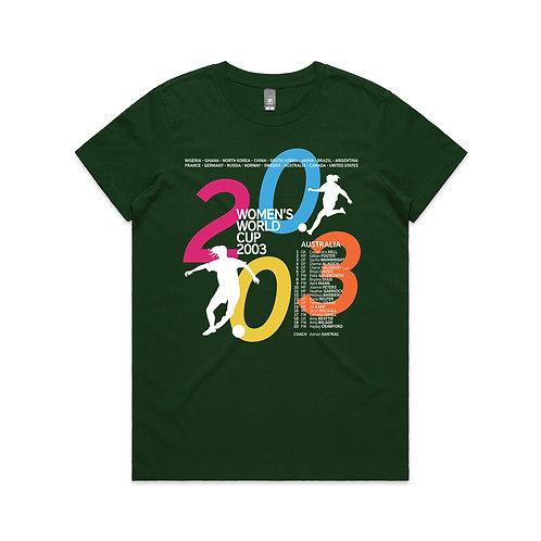 Women's World Cup 2003 T-shirt