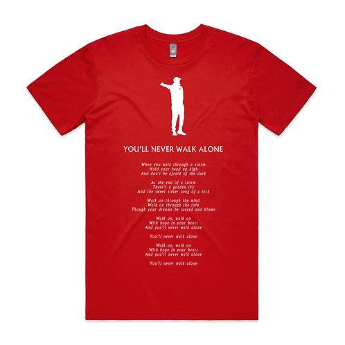 YNWA Lyrics T-shirt