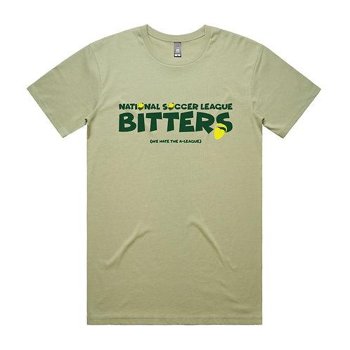 National Soccer League Bitters T-shirt