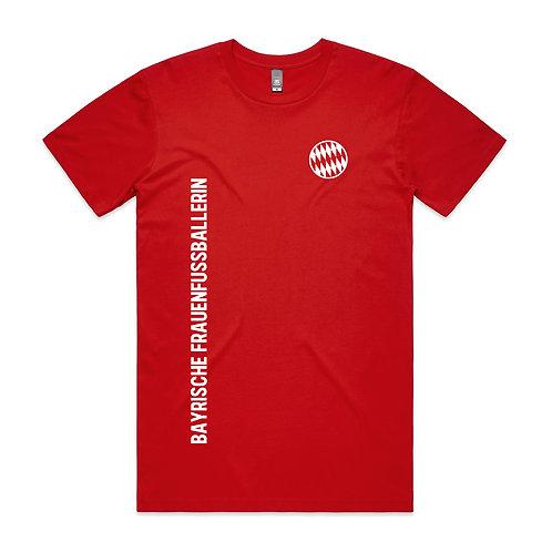 Gielnik Bayrische Frauenfussballerin T-shirt