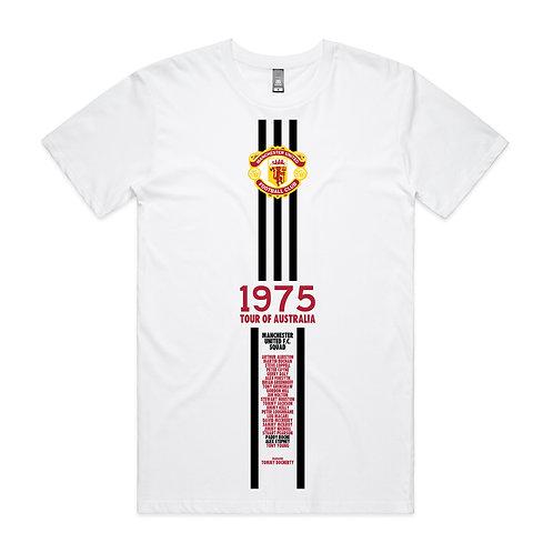 Manchester United Tour of Australia 1975 T-shirt