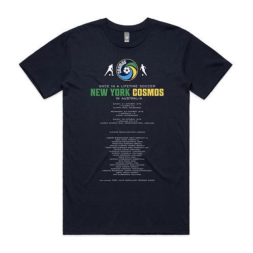 New York Cosmos Australia 1979 T-shirt