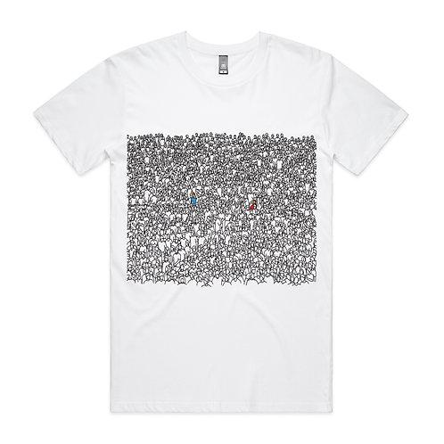Ethnic Crowd T-shirt