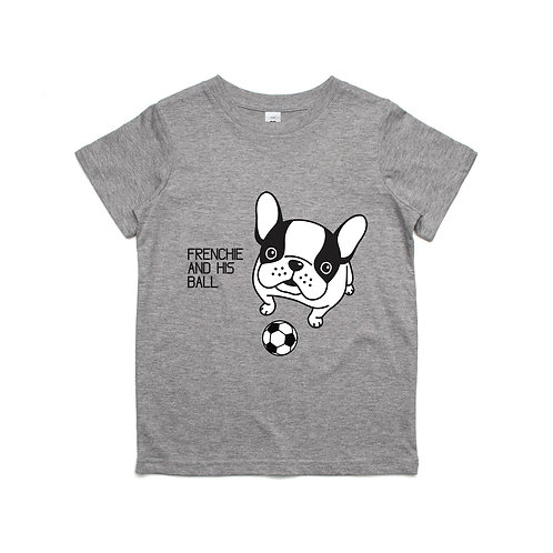 Frenchie and His Ball T-shirt