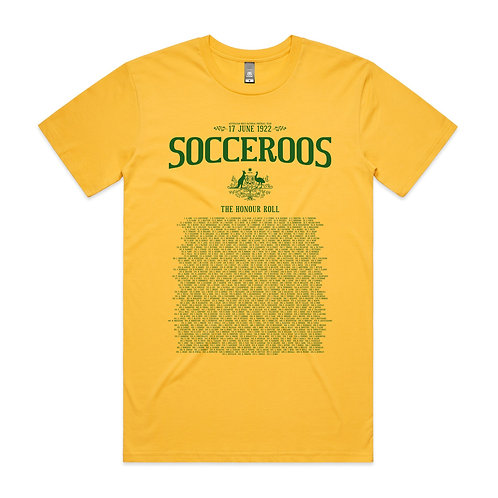 Every Socceroo Capped T-shirt
