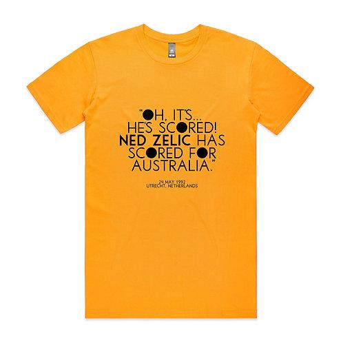 Ned Zelic Has Scored for Australia T-shirt