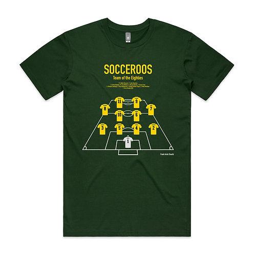 Socceroos Team of the Eighties T-shirt