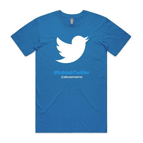 Sokkah Twitter Abusername T-shirt