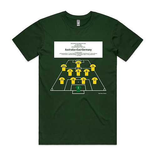 First Ever Socceroos World Cup 1974 T-shirt