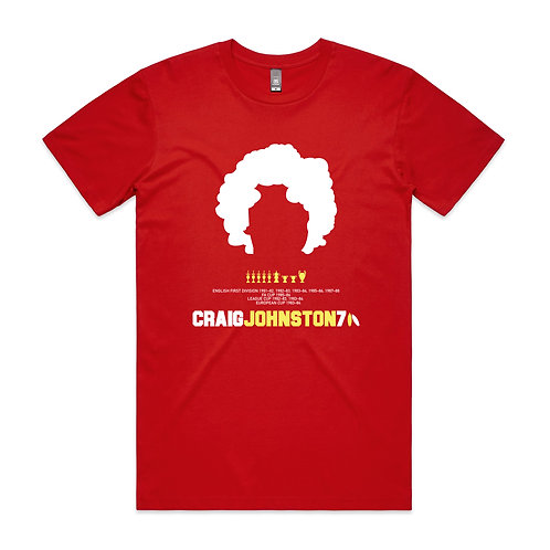 Craig Johnston 7 T-shirt