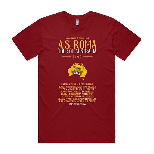AS Roma Tour 1966 T-shirt