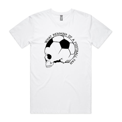 What Remains of a Football Fan T-shirt