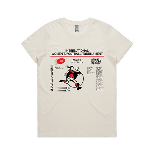 International Women's Football Tournament 1988 T-shirt