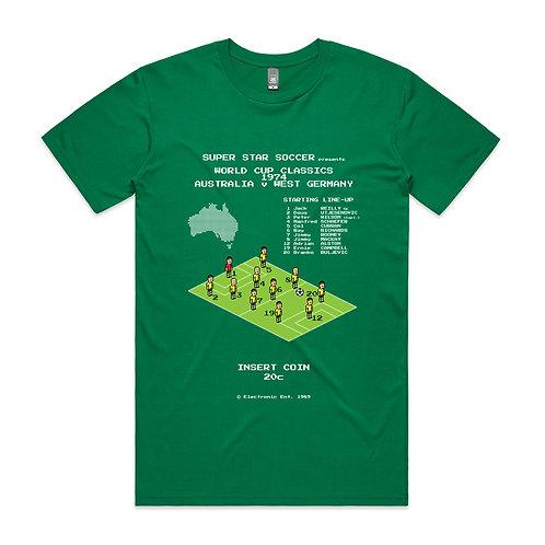 Pixel World Cup Classics Australia 1974 T-shirt