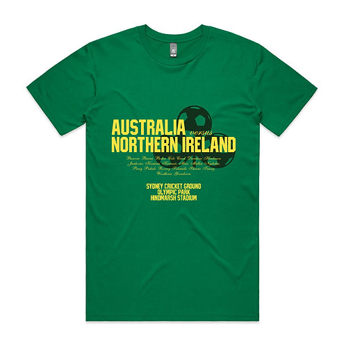 Australia Northern Ireland 1980 T-shirt