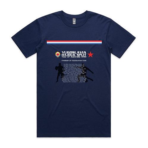 Yugoslavia Tour of Australia 1949 T-shirt