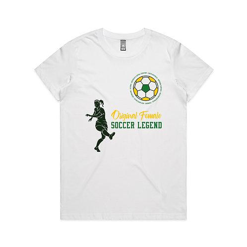 Original Female Soccer Legend T-shirt