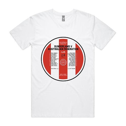 Sunderland v Australian Federation 1976 T-shirt