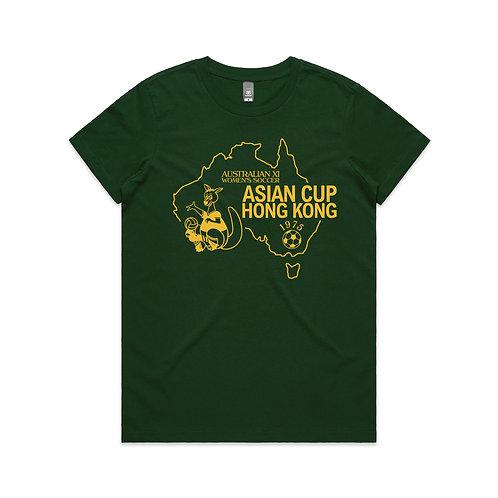 Australian XI Women's Soccer Asian Cup Hong Kong 1975 T-shirt