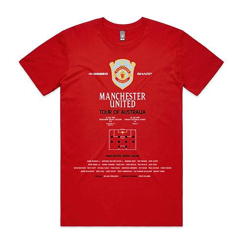 Manchester United Tour Australia 1999 T-shirt