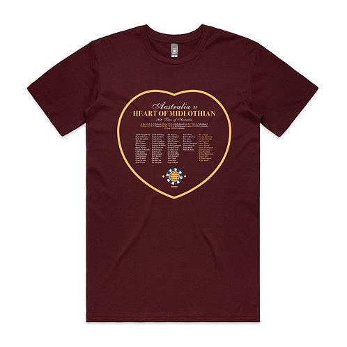 Australia v Heart of Midlothian 1959 T-shirt