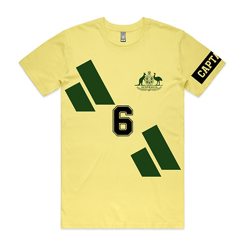Paul Wade Captain Socceroo T-shirt
