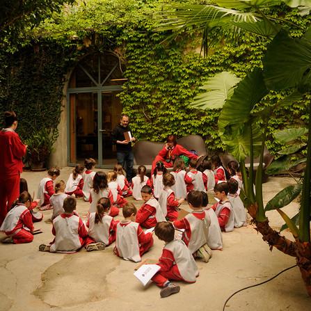 Visita Escolar Mafalda Palo Alto Barcelona