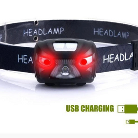 Head Lamp with Red LED