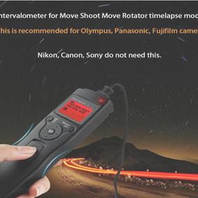 Intervalometer for Rotator