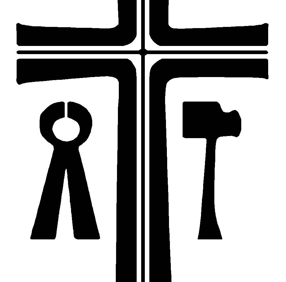 Thick B&W La Salette Cross