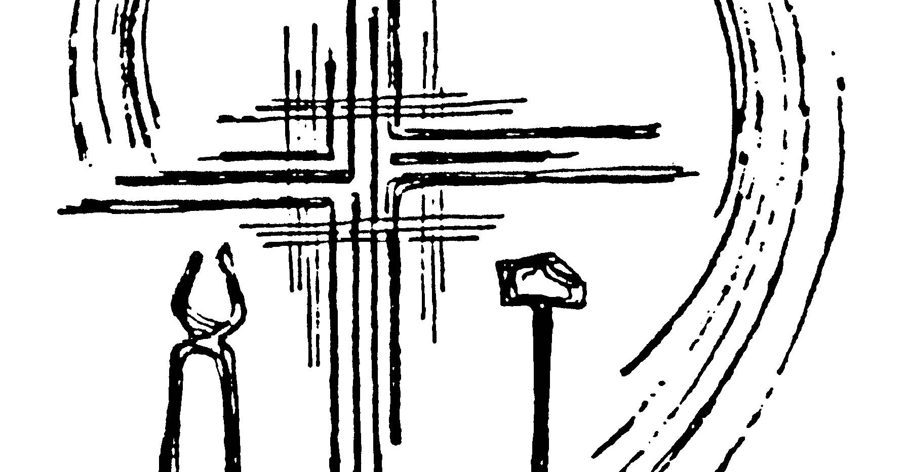 Art Deco La Salette Cross
