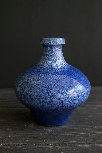 Bauchige Vase gesprenkelt
